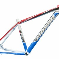 frame mosso alloy 681xc biru merah sepeda asli taiwan