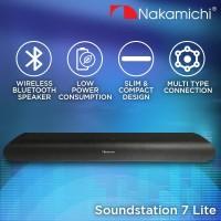 Nakamichi Soundstation 7 LITE Audio Speaker Wireless Bluetooth Black