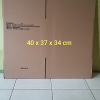 Kardus Packing Box ukuran 40 x 37 x 34 cm