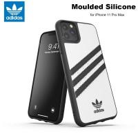 Case iPhone 11 Pro Max Adidas Originals Moulded Soft Case - WhiteBlack