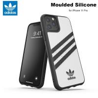 Case iPhone 11 Pro Adidas Originals Moulded Soft Case - White Black