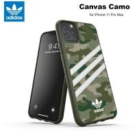 Case iPhone 11 Pro Max Adidas Originals Canvas Camo - Raw Green