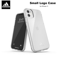 Case iPhone 11 Adidas Sport Small Logo Soft Case - Clear