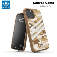 Case iPhone 11 Pro Adidas Originals Canvas Camo - Raw Gold