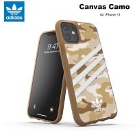 Case iPhone 11 Adidas Originals Canvas Camo - Raw Gold