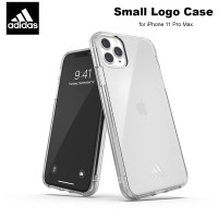 Case iPhone 11 Pro Max Adidas Sport Small Logo Soft Case - Clear