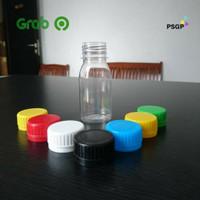 (Khusus Pengiriman Gojek Dan Grab) Botol Plastik Zam Zam 80Ml - Ln - Putih