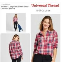 UNVRL Thread plaid Shirt Brand Murah