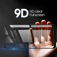 Tempered Glass Samsung A20s 9D full cover glue lem anti gores
