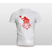 Kaos Baju Pakaian NATAL SANTA CLAUS KETAWA