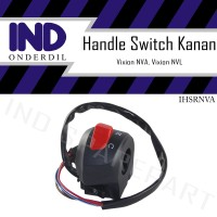 Handle-Holder Switch-Saklar-On Off Kanan-RH Yamaha Vixion New NVA-NVL