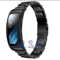 Stainless Steel Samsung Galaxy Gear Fit 2 Pro Strap Stainless Steel