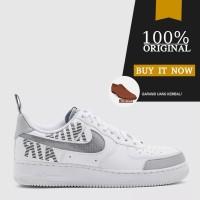 Sepatu Nike Air Force 1 '07 Lv8 2 Under Construction - White/Wolf Grey