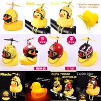Bebek Kuning Helm Kaca Mata Untuk Sepeda Motor Spion Mobil Lampu Led