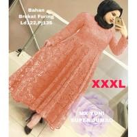 MAXI YUNI SUPER JUMBO XXXL SALEM [Gamis 0121] SLD Baju Gamis Wanita