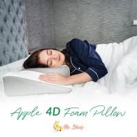 Mr. Sleep Apple 4D Foam Pillow - Bantal Memory Foam untuk Tidur Miring