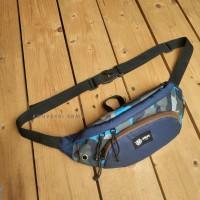 Tas waist bag Loreng tactical outdoor anti air noise