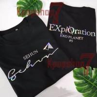 kaos exo baju exo tshirt exo exploration hologram