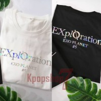 kaos exo baju exo tshirt exo exploration hologram ver.2