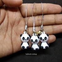 Gantungan Kunci Tali Strap Hp Handphone Cute Panda