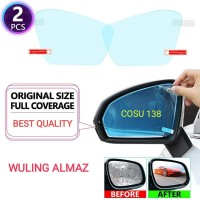 Kaca film Spion Anti fog embun kabut air Wuling Almaz full Mirror