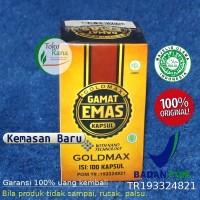 GOLDMAX Walatra Gamat emas Kapsul - ORIGINAL jelly gamat kapsul