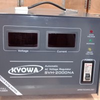 Stabilizer Kyowa 2000W SVH-2000NA 2000 watt 2KWH Digital Voltage Japan
