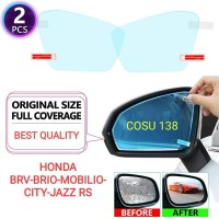 Kaca film Spion Anti fog embun kabut air BRV BRIO MOBILIO CITY JAZZ RS
