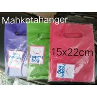 Kantong Plastik baju HD Oval Uk. 15x22 (isi 100 lembar) kantong Mini
