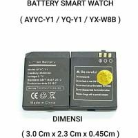 Baterai Smart Watch YX-W813/YX W8B/Y1 Pro/Y1 Plus/T11 Original