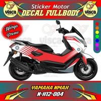 DECAL STIKER MOTOR FULL BODY YAMAHA NMAX N-X12-004