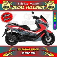 DECAL STIKER MOTOR FULL BODY YAMAHA NMAX N-X12-011