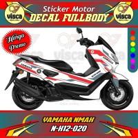 DECAL STIKER MOTOR FULL BODY YAMAHA NMAX N-X12-020