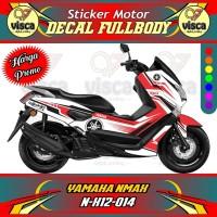 DECAL STIKER MOTOR FULL BODY YAMAHA NMAX N-X12-014