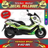 DECAL STIKER MOTOR FULL BODY YAMAHA NMAX N-X12-005