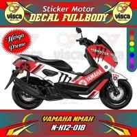 DECAL STIKER MOTOR FULL BODY YAMAHA NMAX N-X12-018