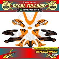 DECAL STIKER MOTOR FULL BODY YAMAHA NMAX ICON