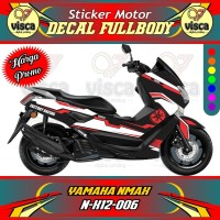 DECAL STIKER MOTOR FULL BODY YAMAHA NMAX N-X12-006