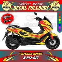DECAL STIKER MOTOR FULL BODY YAMAHA NMAX N-X12-019