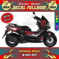 DECAL STIKER MOTOR FULL BODY YAMAHA NMAX N-X12-013
