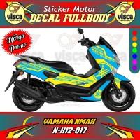 DECAL STIKER MOTOR FULL BODY YAMAHA NMAX N-X12-017
