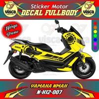 DECAL STIKER MOTOR FULL BODY YAMAHA NMAX N-X12-007