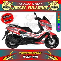 DECAL STIKER MOTOR FULL BODY YAMAHA NMAX N-X12-010