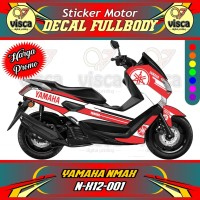 DECAL STIKER MOTOR FULL BODY YAMAHA NMAX N-X12-001
