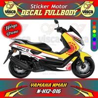 DECAL STIKER MOTOR FULL BODY YAMAHA NMAX N-X12-016