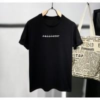 T-shirt Polos Pres / Baju Kaos Distro Pria Wanita Hitam Pendek Slimfit
