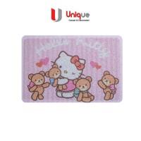 Keset Lantai Motif Hello Kitty / Keset Kamar Anak / Keset Motif Anak