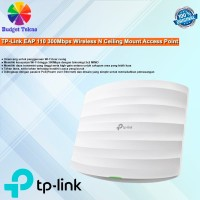 Original TP-Link EAP 110 300Mbps Wireless N Ceiling Mount Access Point
