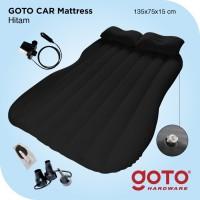 Kasur Mobil Hitam Car Matress Black Matras Angin Pompa Outdoor Indoor