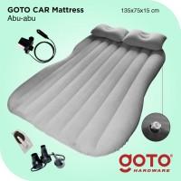 Kasur Mobil Abu Car Matress Grey Matras Angin Pompa Outdoor Indoor